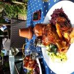 Sunday roasts in the garden