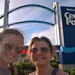 entrance to cedar point amusement park