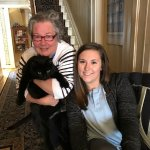Marielle with Oscar