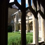 Cloisters - Lacock Abbey.