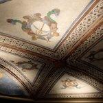 Monastir de Sant Benet: detalle techo de la cripta