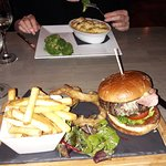 What a burger! Plus amazing fish pie