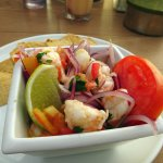 Shrimp Ceviche - so yummy!!! I had it several times.