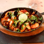 Seafood with a taste of Spain