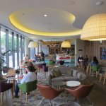 Lobby and breakfast room