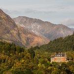 Glencoe House from Tighphuirt
