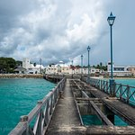 Fishermans bar from the Speightstown Jetty