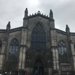 The outside of St Giles
