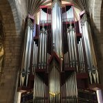 The organ in St Giles