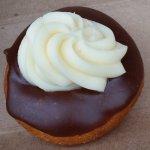 Delicious Boston Cream Donut!