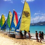 Hobie cat tour to Tintamare