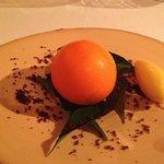 special desert: tangerine