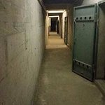 The passageway of bunkers