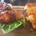 Butterflied Chicken Breast Burger