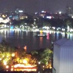 Lake of the Restored Sword (Hoan Kiem Lake) night time