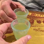 Owner brought us over complimentary Limoncello when we finished our meal