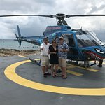 Cayman Island Helicopter experience was amazing!