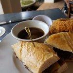 Beef short rib sandwich