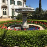 The water fountain and estate