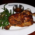 Rotisserie chicken was divine!
