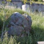 Sacred rock at Delphi