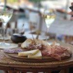 Wine, cheese & ham