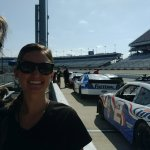 We got to drive these true race cars on a real race track. Real grown up fun.