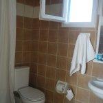 bathroom, shower area could be bigger