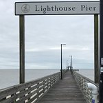 Fun to see the fishermen at the end of Pier