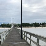 Long walk down the pier!