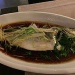 One very tasty sea bass (prior to de-boning)
