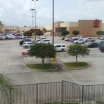 Target within walking distance....don't even have to get on the highway.