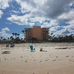 The Coral Sands Inn from the beach