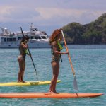 Stand Up Paddleboard at Isla Tortuga, Costa Rica  #islatortugacr
