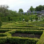 Part of the walled gardens.