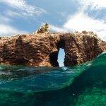 Vistas como estas y poder hacer snorkel con lobos marinos y distintos tipos de peces