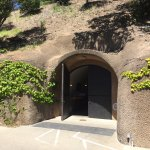Entrance to the Caldwell Winery cave