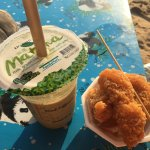 Had to pay for my own chair at Jomtien. And I bought nuggets from random Thai lady.