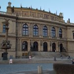 front of the Rudolfinum