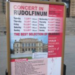 sign in front of the Rudolfinum