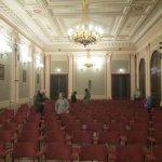 Rudolfinum Hall for string quintet