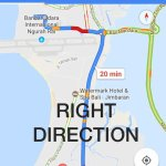 GOOGLE MAP RIGHT DIRECTION