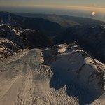 Franz Joseph Glacier looking towards West Coast