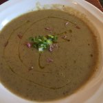 Green Garlic Asparagus Soup