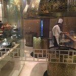 Inside their beautiful Aurum restaurant.