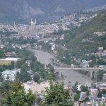 View of Muzaffarad City