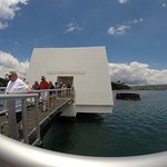 USS Arizona Memorial/World War II Valor in the Pacific National Monument Foto