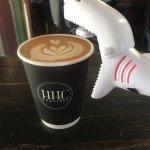 Apparently sharks like coffee