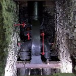 The 20hp Water Turbine - the mill's powerhouse