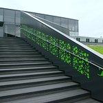 Лестница на террасу.